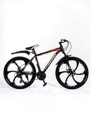 """Велосипед горный Phoenix TF800 26"""" (черно-желто-красный)"""
