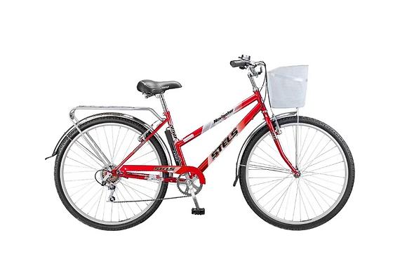 Велосипед Стелс Navigator 350 Lady + корзина