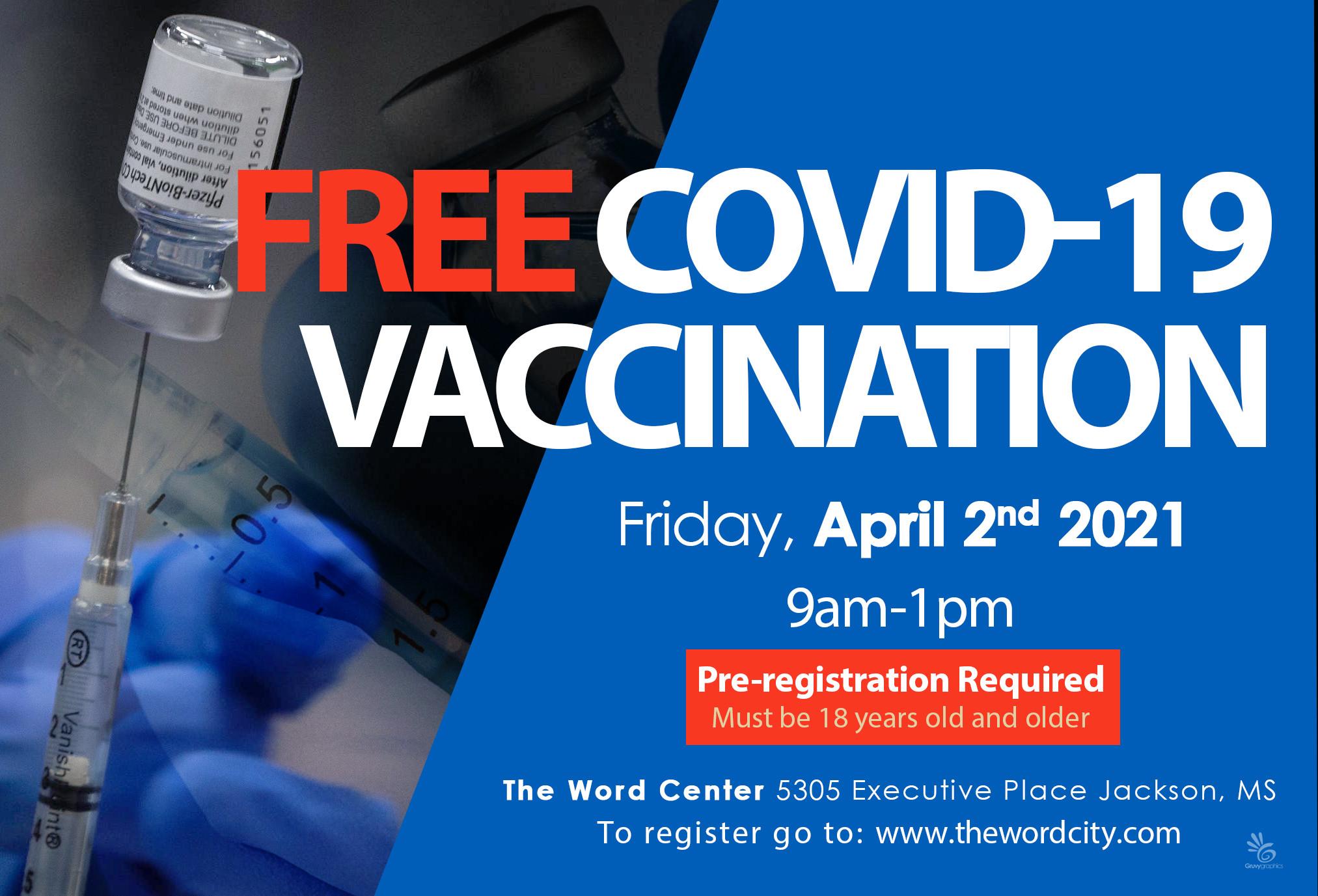 COVID19 Vaccination - Round 1