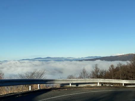 綺麗な雲海でした。