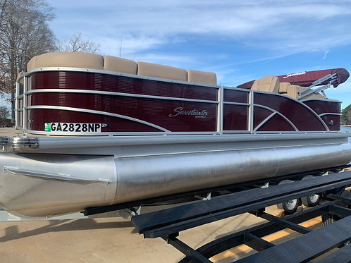 2018 Sweetwater Premium 235 RL (Rear Lounge) w/Yamaha F150 includes Trailer