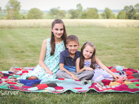 Grace, Benjamin, & Naomi {Children}