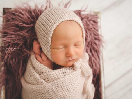 Newborn: Everleigh {9 days}