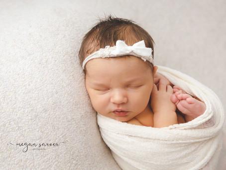 Newborn: Emrie {8 days}
