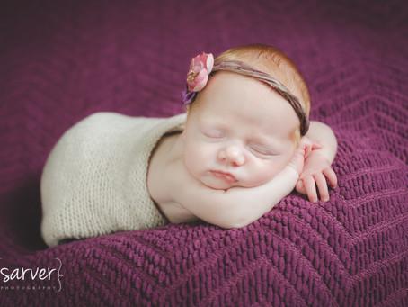 Newborn Twins: Wyatt & Finnleigh