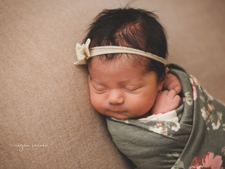 Newborn: Gwenyth {8 days}