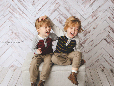Children: Reid & Logan {4 yr}
