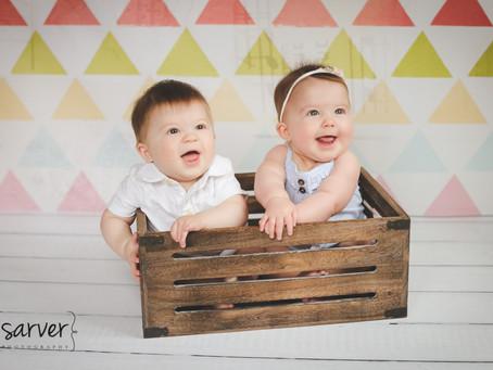 Children: Brady & Nora {6 mo}
