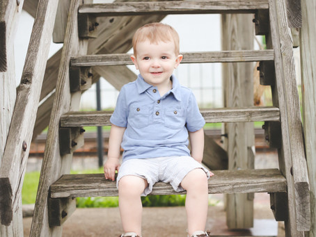 Children: Hudson {2 yrs}