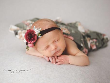Newborn: Haley {8 days}