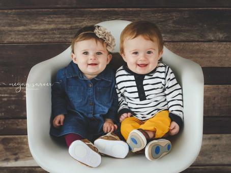 Children: Rhett & Rhea {8 mo}