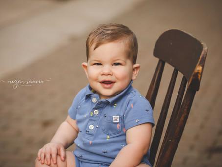 Child: Oliver {1 yr}