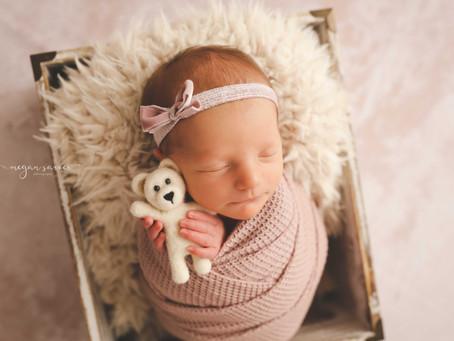 Newborn: Olivia {9 days}