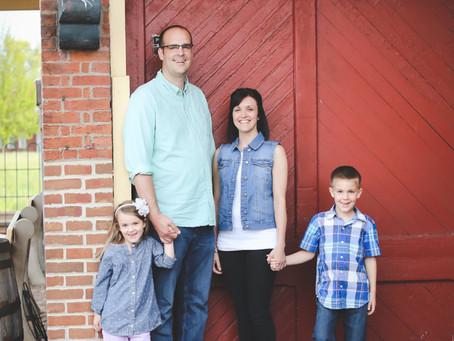 Family: Mark & Heidi