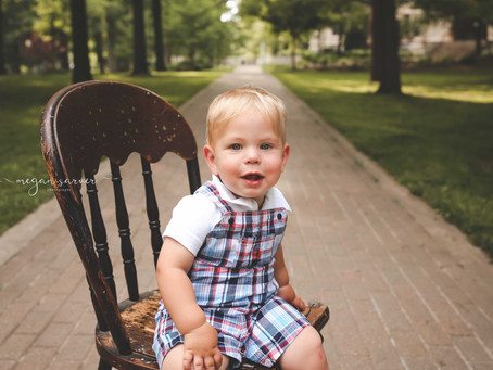 Child: Hayes {1 yr}