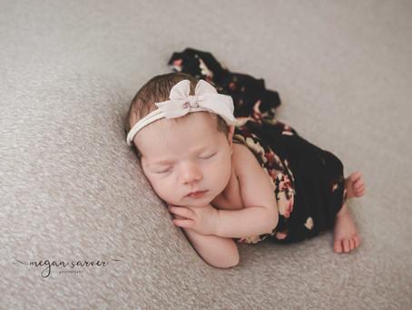 Newborn: Hailey {6 days}