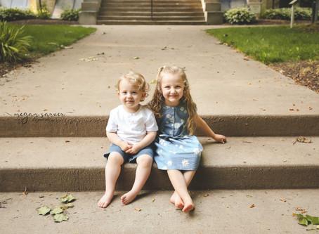 Nora & Oliver {Child Mini}
