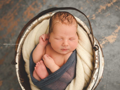 Newborn: Connor {6 days}