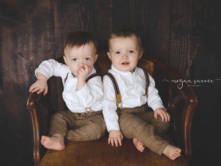 Children: Reid & Logan {1 yr}