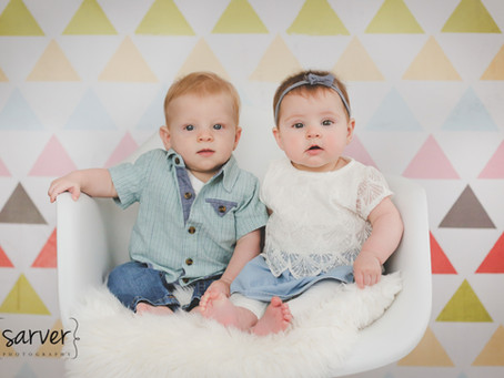 Children: Garin & Beatrice {6 mo}