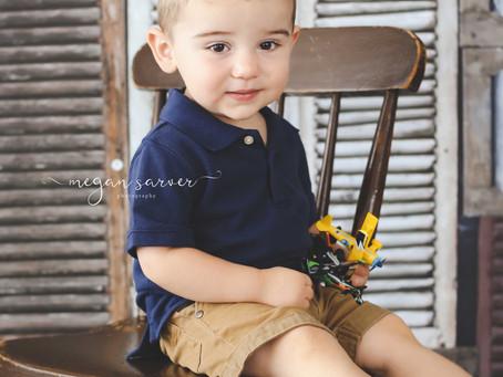 Child: Landon {2 yrs}