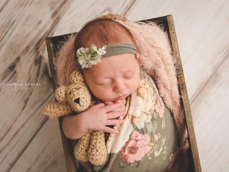 Newborn: Teaghan {7 days}