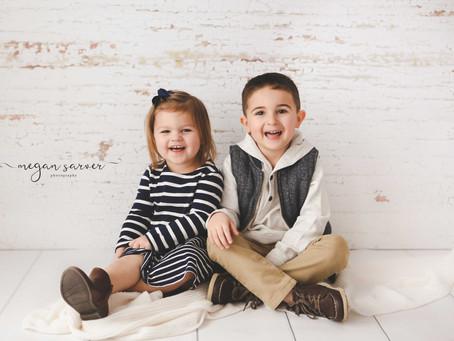 Landen & Karlie {Child Mini}