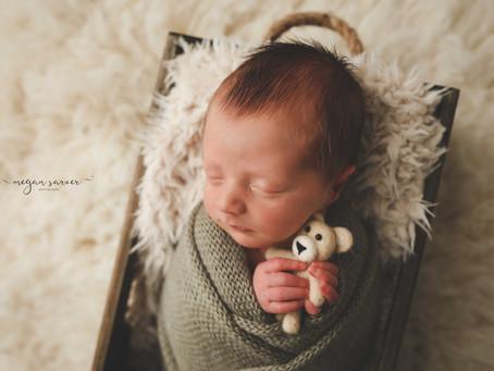 Newborn: Ethan {9 days}