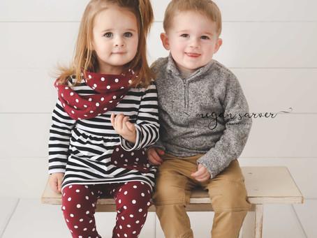 Rhett & Rhea {Child Mini}