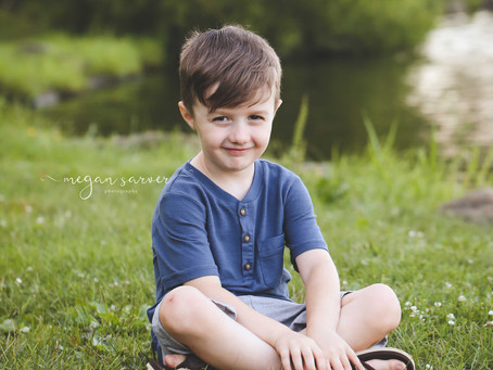 Child: Asher {5 yrs}