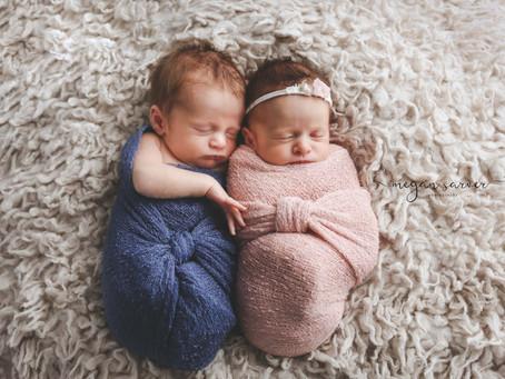 Newborn: Rhett & Rhea {Twins}