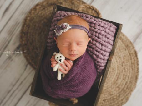 Newborn: Adalynn {9 days}