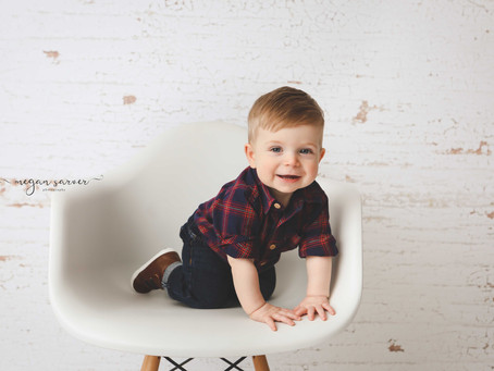Child: Ezekiel {1 yr}