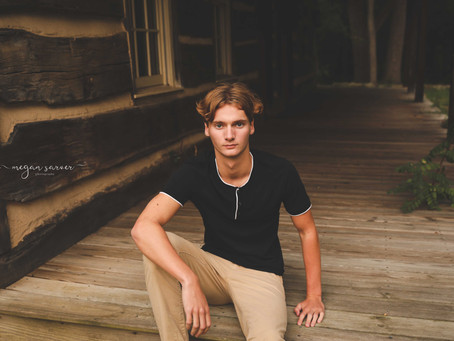 Senior: Clay {Class of 2021}