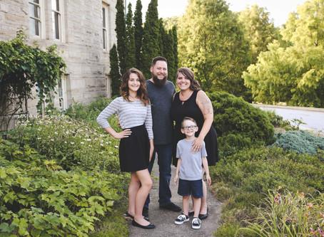 Family: Chad & Noel