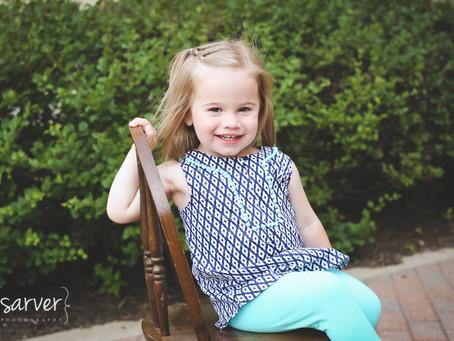 Children: Greta {2 yrs}