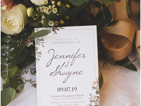 Love: Shayne & Jennifer {Wedding}