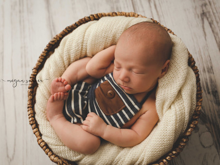 Newborn: Jace {9 days}