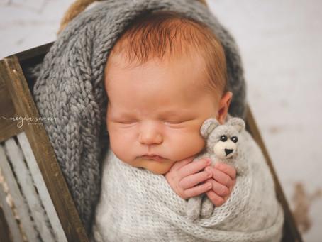 Newborn: Wyatt {6 days}