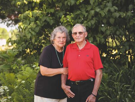 Love: Ed & Joyce {60 yrs}