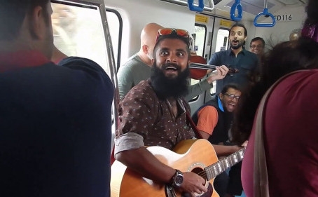 #TerminalJam on The Namma Metro