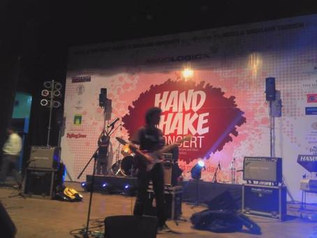 Handshake Concert Chowdiah Memorial Hall Bangalore: Photo-Blog