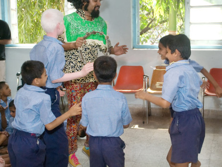 #MusicforChange: Swarathma Action Replay Concert at Poona Blind School