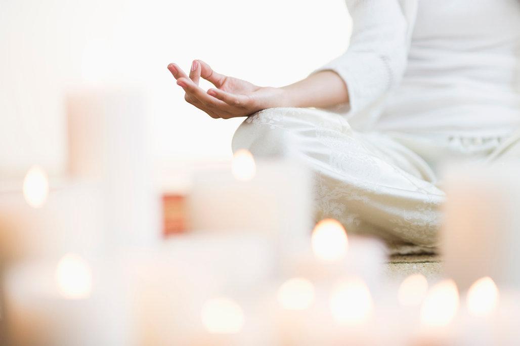 Meditation bei Lichtheilung Albrings