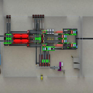 View of Processing System from above