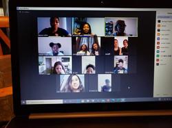 Teen Quarantine Virtual Meeting