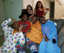 Glow PJ Christmas Party