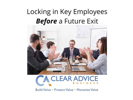 Locking in Key Employees for a Future Exit