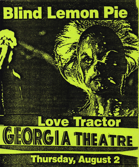 Blind Lemon Pie with Love Tractor