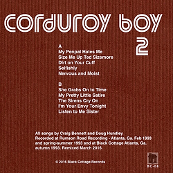 Corduroy Boy - LP 2